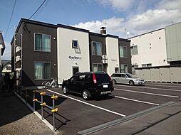 北海道旭川市豊岡八条2丁目の賃貸アパートの外観