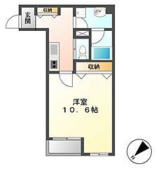 マンション385[9階]の間取り