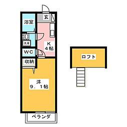 トップハウス寺家1[2階]の間取り