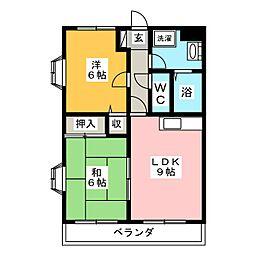 TMパレス[1階]の間取り