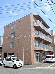 北海道札幌市中央区北七条西26の賃貸マンションの外観
