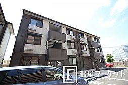 愛知県豊田市柿本町2丁目の賃貸アパートの外観