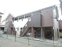 福岡県北九州市戸畑区元宮町の賃貸アパートの外観