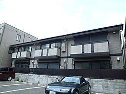 東京都北区豊島6丁目の賃貸アパートの外観