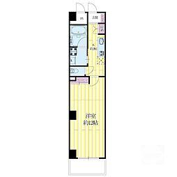 ハイムタケダT-10[2階]の間取り