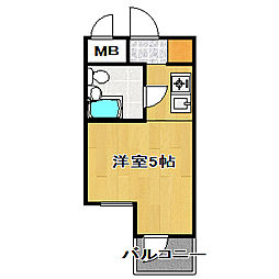 TOP・船橋第1.[2階]の間取り