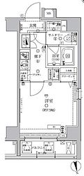 アルテシモ モーレ 5階1Kの間取り