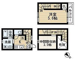 sereno検見川[1階]の間取り