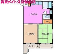 レジデンス和田[1階]の間取り