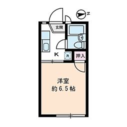 ビューイシハラ[2階]の間取り