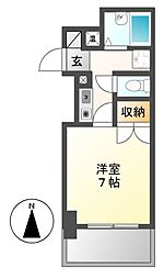 グランパス檀渓[2階]の間取り