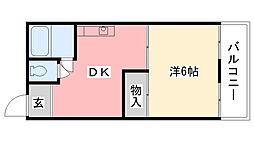 寿コーポ[101号室]の間取り