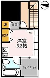 東京都千代田区九段南1丁目の賃貸マンションの間取り