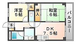マイシュ・デ・カサ[3階]の間取り