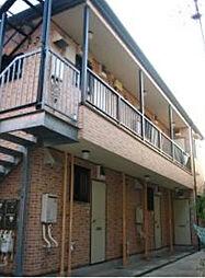 東京都文京区千駄木5丁目の賃貸アパートの外観