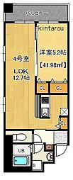 富士見Nameki Mansion[3階]の間取り