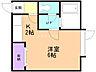 間取り,1K,面積20.25m2,賃料2.9万円,バス くしろバス芦野5丁目下車 徒歩2分,,北海道釧路市芦野5丁目