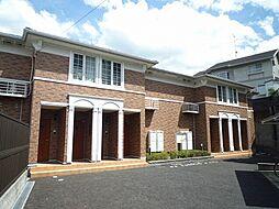 滋賀県大津市千町2丁目の賃貸アパートの外観