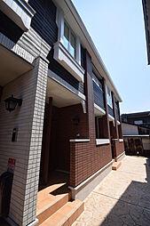 大阪府柏原市円明町の賃貸アパートの外観