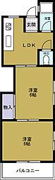 第2武田マンション[2階]の間取り
