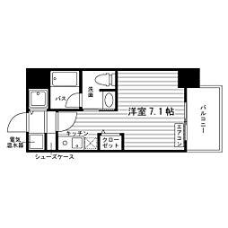 北海道札幌市北区北九条西2丁目の賃貸マンションの間取り