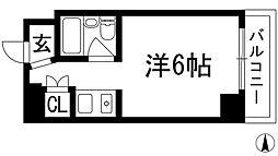 兵庫県西宮市門戸岡田町の賃貸マンションの間取り
