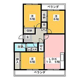 ステラ21[1階]の間取り