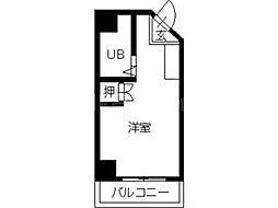 香川県高松市瓦町1丁目の賃貸マンションの間取り