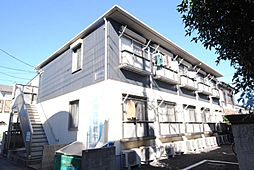 埼玉県越谷市北越谷1丁目の賃貸アパートの外観
