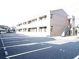埼玉県鶴ヶ島市大字下新田の賃貸アパートの外観