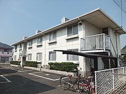 愛媛県松山市古川南2丁目の賃貸アパートの外観