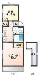 八千代台パーソナルハウスパート11[3階]の間取り