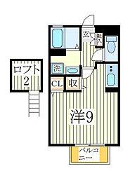 TOWN−A[1階]の間取り