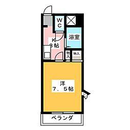 ロイヤルNYII[2階]の間取り