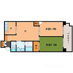 幸田マンション[7階]の間取り