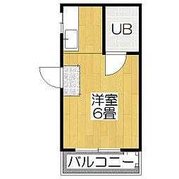 コーポ京趣苑[2階]の間取り
