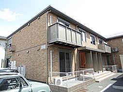 兵庫県姫路市飾磨区上野田6丁目の賃貸アパートの外観