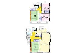 [一戸建] 千葉県市原市北国分寺台1丁目 の賃貸【/】の間取り