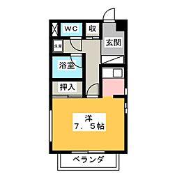 サンケイビル[3階]の間取り