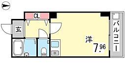 甲南タマタニマンション[108号室]の間取り