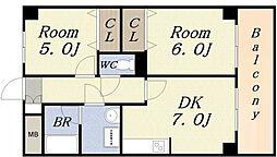 コートダジュール[3階]の間取り