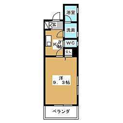 Felice Izumi[5階]の間取り