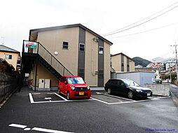 MOON赤坂 B棟[205号室]の外観