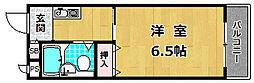 第3ミハマハイツ[2階]の間取り
