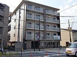 京都府京都市北区紫竹上堀川町の賃貸マンションの外観