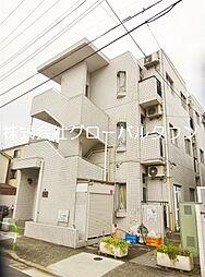 東京都北区浮間2丁目の賃貸マンションの外観