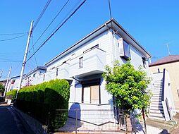 埼玉県富士見市関沢3丁目の賃貸アパートの外観