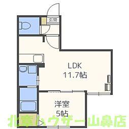 Terrace fino(テラス フィーノ)[5階]の間取り