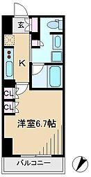 アパートメンツ巣鴨[7階]の間取り