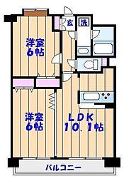 SATOMI-5番館[203号室]の間取り